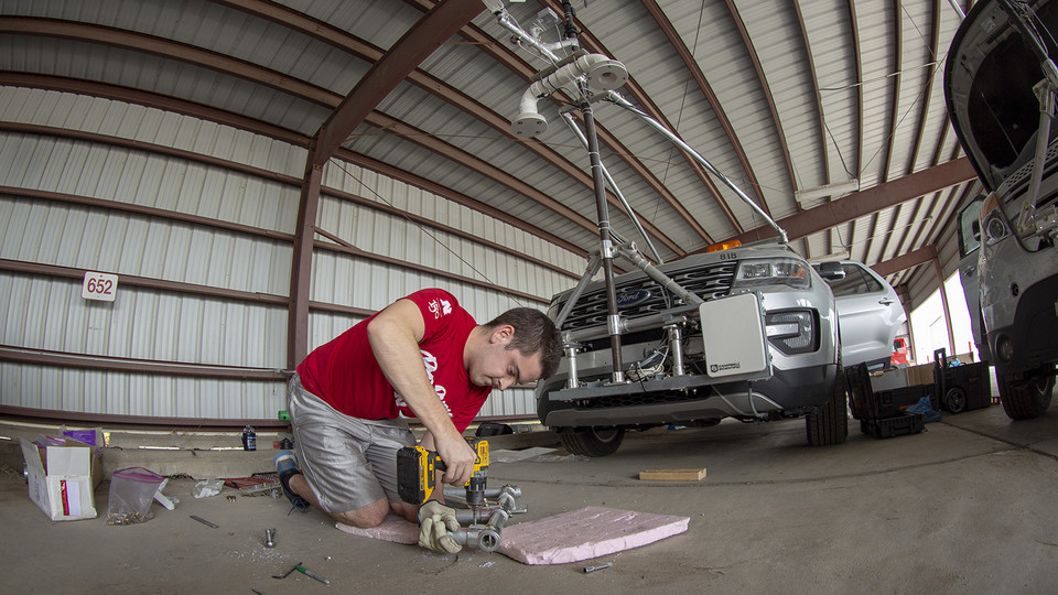 Huskers begin chase to collect severe storm data