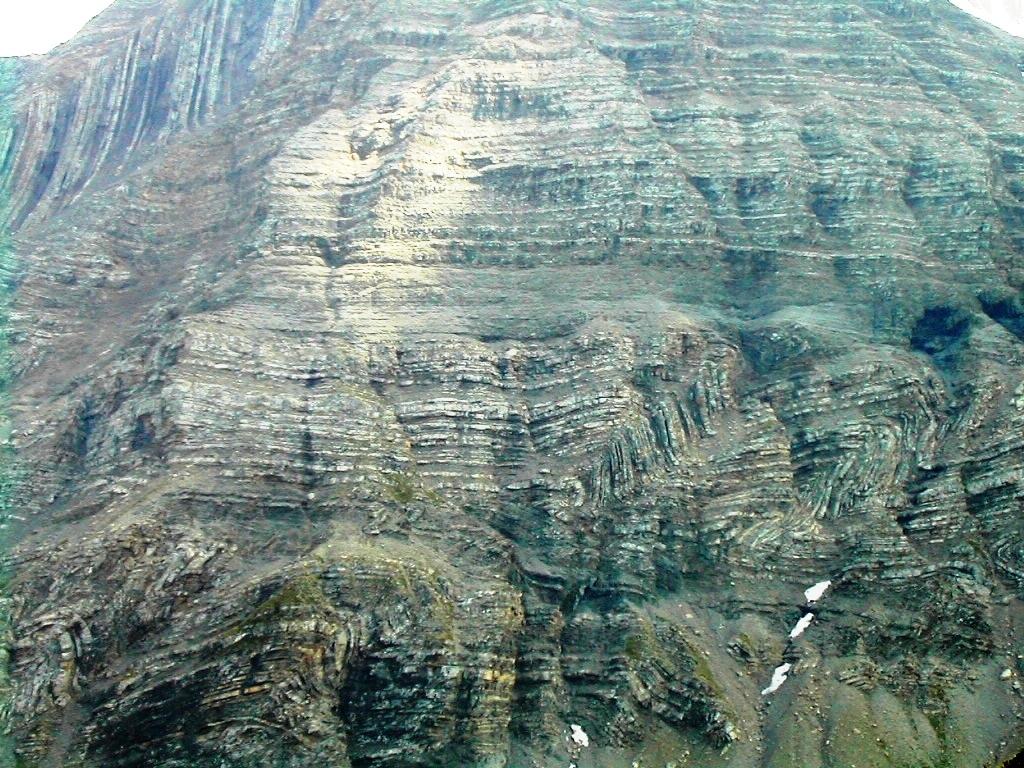 Alps folds